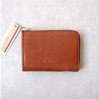yes crafts(イエスクラフツ)/SUKI-TSUGI NUME SHORT WALLET/brown