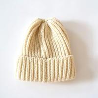 HIGHLAND2000(ハイランド2000) /British Wool 001 Rib Bobby cap ARAN