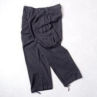 """""""再入荷""""【used black overdye】 90-00s Royal Navy /Working Combat Trousers"""