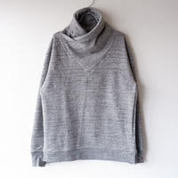【good design】Jackman(ジャックマン)/GG Sweat Wrap Neck/ラップネック/charcoal