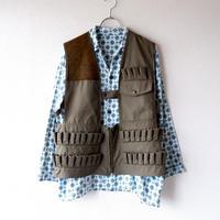 【フランスより】hunting vest/ハンティングベスト/シューティングベスト/used/vintage/2