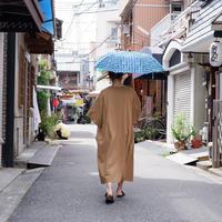 TIGRE BROCANTE(ティグルブロカンテ) /ZENZO carreaux 折り畳み日傘 グリーン