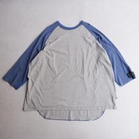 TRAINER BOYS( トレーナーボーイズ) /ALL ROUND 3/4 T-SHIRT/Blue