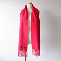 Burberrys (バーバリー)/ソリッド マフラー/ cashmere100% /Made In England/red