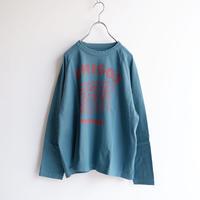 TIGRE BROCANTE (ティグルブロカンテ)/3アミーゴ ラグランロングスリーブT/turquoise