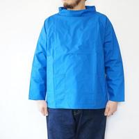 【ラスト1点/サイズS】SETTO(セット)/  ハイネック プルオーバーシャツ ブルー(Men's & Lady's)