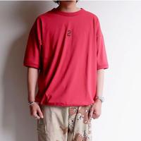 Jackman(ジャックマン)/C/Silk Tenjiku HIMO-T shirt/Red