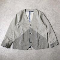 """【2種類のヒッコリーが】thinq"""" (シンク)/hickory engineer jacket/coverall"""