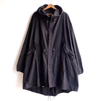 【US ARMY】SNOW CAMOUFLAGE PARKA/COTTON100% /BLACK