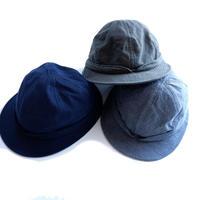 HIGHER(ハイヤー)/バックサテン SNAIL HAT