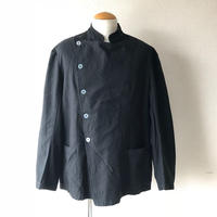 【イタリア軍】ITALIAN ARMY COOK JACKET /overdye/ BLACK染め/5