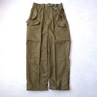 80's CANADIAN ARMY wind over pants /DEADSTOCK-