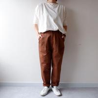 HARVESTY (ハーベスティ)/CHINO EASY EGG LONG PANTS /ブラウン