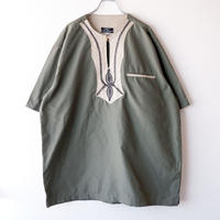 【FROM EURO】wide size pullover design shirt/used