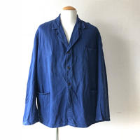 【FROM EURO】OLD EURO WORK JACKET/3釦/blue