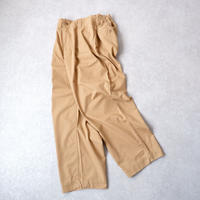 130GARMENT/ One Tuck Fatigue Trouser Chino/A20