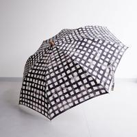 TIGRE BROCANTE(ティグルブロカンテ) /ZENZO carreaux 折り畳み日傘 ナチュラル