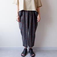 【最後の一着/ size:S】SLOW HANDS(スローハンズ)/geometric print malibu pants