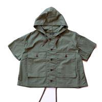 NAPRON(ナプロン)/unisex USMC Hoody Shirts/olive