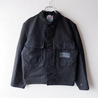 【Black-overdye】euro work jacket