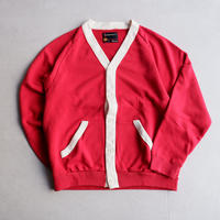 TOWNCRAFT(タウンクラフト)/60S SWEAT CARDIGAN/RED
