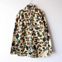 【USAより】Wool Rich(ウールリッチ)プリントネル/カモフラージュシャツ/used