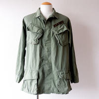 【US military】60s〜70s U.S.ARMY /JUNGLE FATIGUE JACKET /3rd/ medium-long