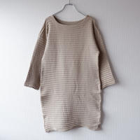"""marimekko""(マリメッコ)/half-sleeve  long cutsewn"
