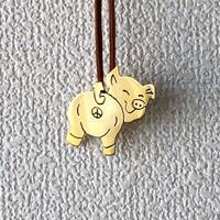 BRU NA BOINNE(ブルーナボイン) /2WEYピンバッチ/ PIG/豚