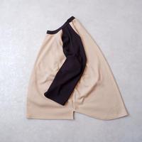 """【コラボ企画】""""Nasngwam×SPINNER BAIT""""/ baseball-Tee/サーマルボンバー/beige"""