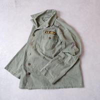 【FROM USA】50S〜vintage us military HBT shirt/used