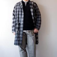 weac.(ウィーク)/MITSUBACHI/ネルシャツコート/gray