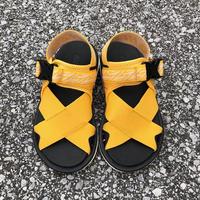 【抜群の履き心地】 HI-TEC(ハイテック)/ KAWAZ FLEX2/yellow