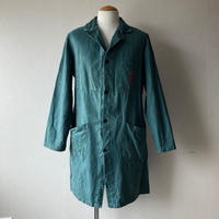 【FROM EURO】OLD EURO WORK COAT/used/green