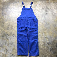 【FROM EURO】OLD EURO WORK OVERALL/blue/O-5