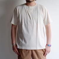 【無染色/Kinari】Jackman(ジャックマン)/Henley neck T-Shirt/Kinari