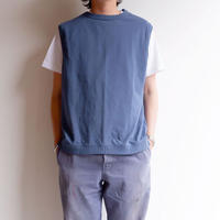 Jackman(ジャックマン)/Beimen tenjiku vest/Ash Blue