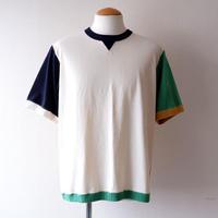 """【ラスト1着/サイズ:L】Jackman(ジャックマン)/Beimen Tenjiku """"Rib-T shirt""""/mulch yellow"""