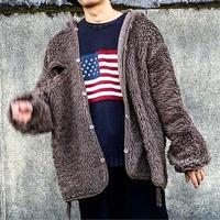 Ralph Lauren ラルフローレン 星条旗 cotton sweater/used/USA古着