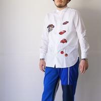 BRU NA BOINNE (ブルーナボイン)/アニマルZOOシャツ ホワイト