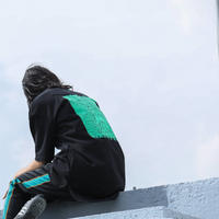 masterkey(マスターキー)/BITE/BIG T-shirt/Black