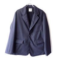 Jackman(ジャックマン)/Stretch Jacket/ navy stripe
