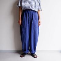 【期間限定SALE】HARVESTY (ハーベスティ)/CIRCUS FATIGUE PANTS/antique blue