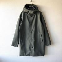 【アウターに迷ったらこれ】Jackman (ジャックマン)/High-density Jersey Coat/ash khaki