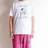 weac.(ウィーク)/Honky Tonk weac. アッカンベートーベン Tシャツ /ホワイト
