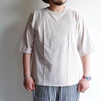 【一滴/Drop】Jackman(ジャックマン)/1/2 Sleeve T-Shirt/Drop Gray