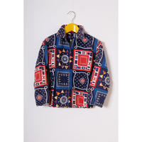 vintage patterned blouson