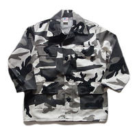 deadstock camo military jacket