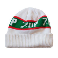 "vintage ""7UP"" knit cap"