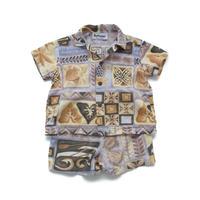 vintage aloha shirt&shorts